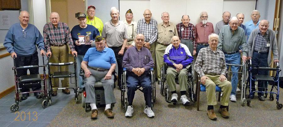 veterans on veterans day 2013 at oak meadows senior living oak