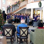 The 5th grade students sang a variety of songs