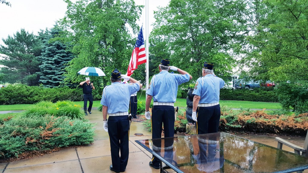 North St. Paul Legion celebrates Flag Day with Oak Meadows